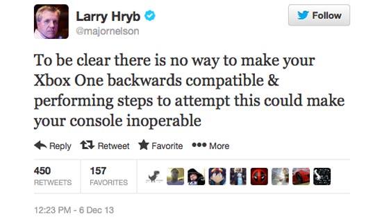 Tweet van Microsoft