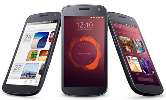 Ubuntu Touch op verschillende toestellen