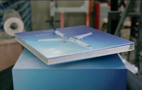 Weee, vliegende folder!