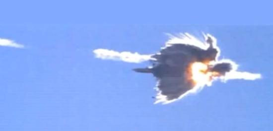 Vliegtuig neergeschoten