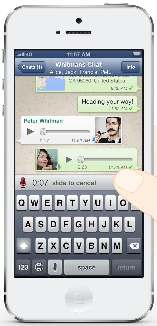 WhatsApp maakt van je lulijzer een lulijzer
