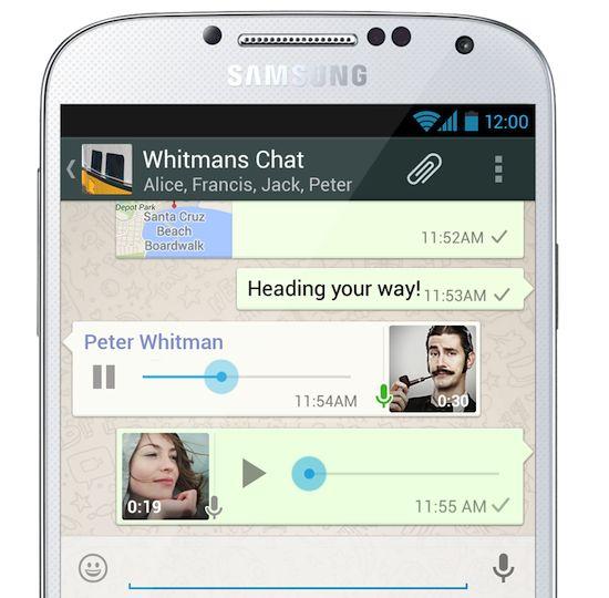 WhatsApp krijgt Voice Messaging