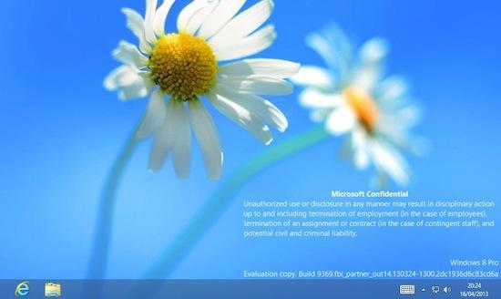 Windows 8.1 gelekt in screenshots