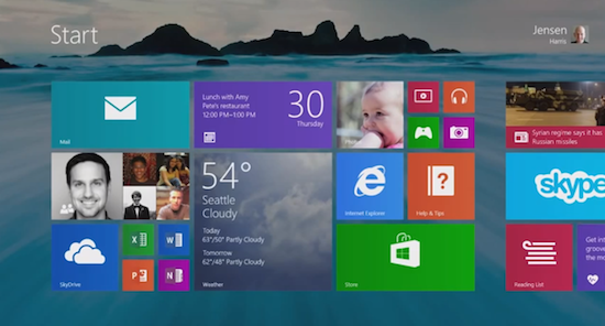 Microsoft Windows 8.1 downloaden kan HIER