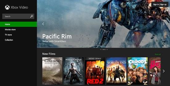 Xbox Video Web