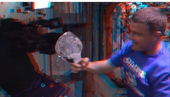 Cool. Nasa zet 3D-beelden uit ruimtestation ISS online