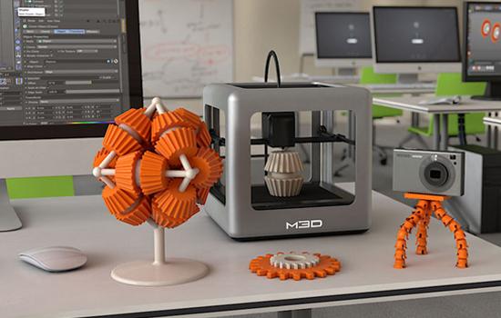 De Micro, een 3D-printer
