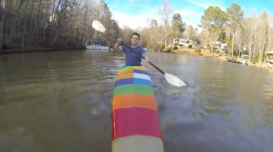 Leuk voor de zomer: een 3D geprinte kayak