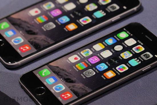 iPhone 6 Plus buigt wanneer