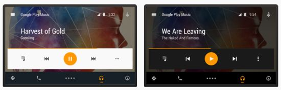 Android-Auto-Interface