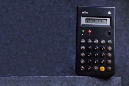 De Apple-Braun iCalculator