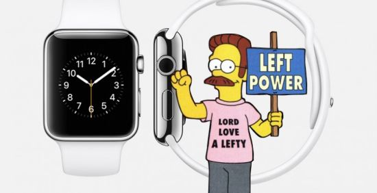 Apple-Watch-linkshandigen