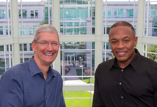 Apple-CEO Tim Cook en hiphoplegende Dr.Dre