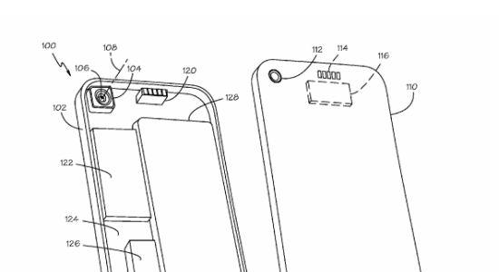 Apple patent camera voor iPhone
