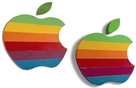 Apple regenboog-logo