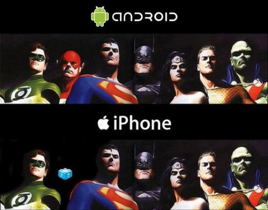Android-tegen-apple