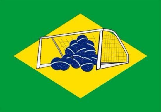 Brazilië nederlaag