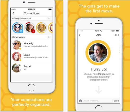 bumble dating app store 15 alternative dating apps to tinder  though one minor gripe is that bumble's algorithm clearly pulls ten of the highest rated profiles to the top of your feed.