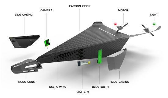Carbon-Flyer-Onderdelen