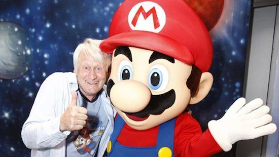 De stem van Mario wilde Link inspreken
