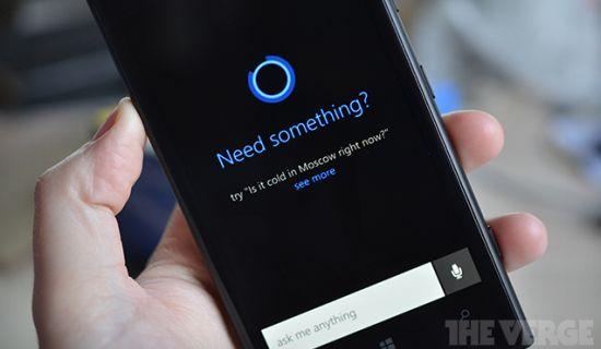 Cortane voor Windows Phone 8.1 gelekt