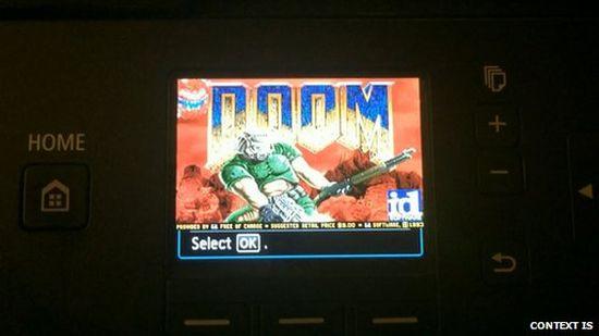 Doom-Printer
