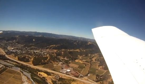 GoPro valt uit vliegtuig