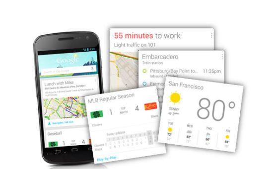 Google Now kaarten