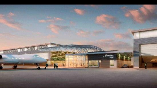 Google start met bouw privé-terminal op San Jose Airport