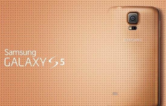 Gouden Galaxy S5