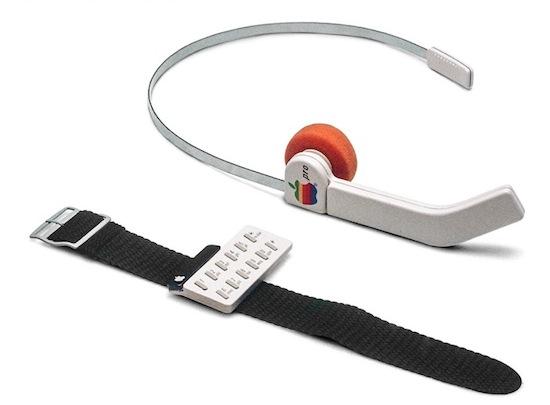 Dit was Apple's eerste smartwatch, gemaakt in de jaren 80