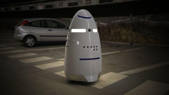 K5-beveiligingsrobot