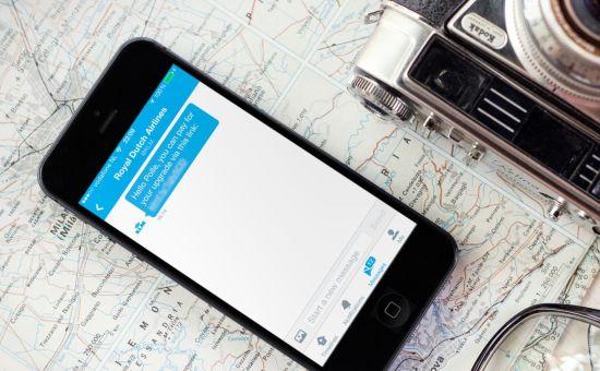 KLM lanceert betalen via social media