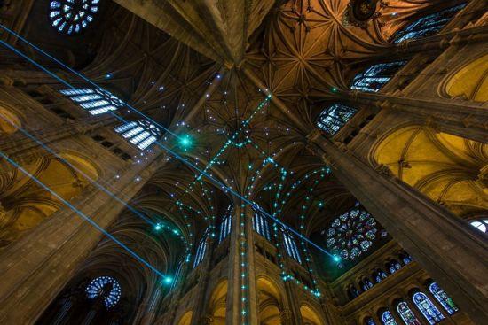 Kerk-Lasershow