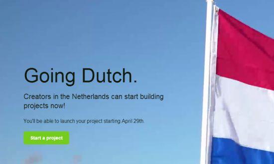 Kickstarter in Nederland