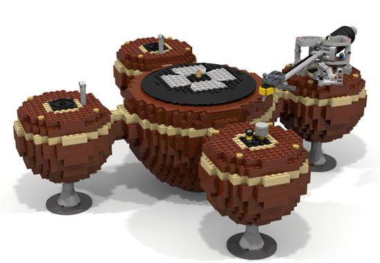 LEGO-platenspeler