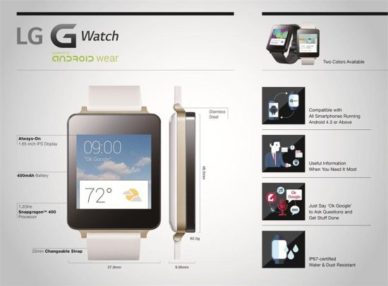 LG G Watch overview