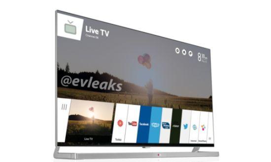 LG TV met webOS gelekt