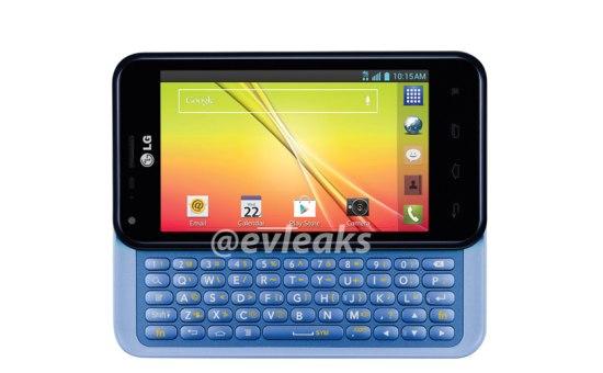 LG smartphone met uitschuifbaar toetsenbord gelekt