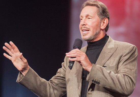Larry Ellison - CEO van Oracle