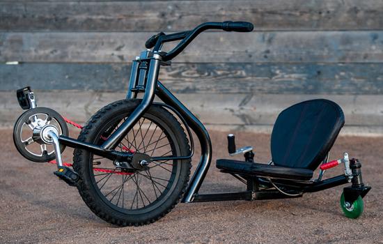 Met de Leaux Racing Trike mag je weer even een kind zijn