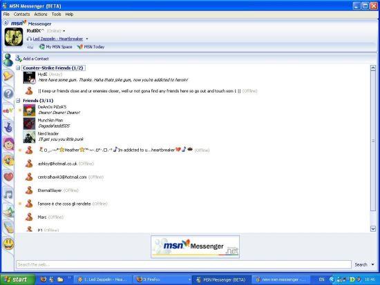 MSN-Messenger