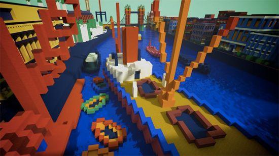 Minecraft-Kunstwerk