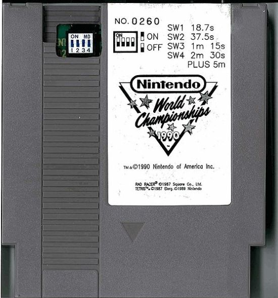 Nintendo World Championships NES cartridge