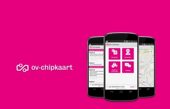 OV-chipkaart app voor iOS en Android