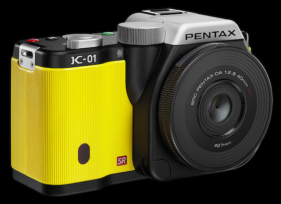 De Pentax K-01-camera