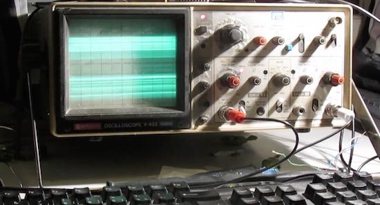 De ultieme demake: Quake op een oscilloscoop