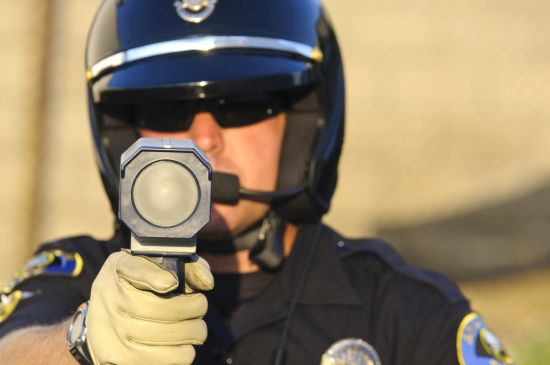 Radar-Gun-Politie