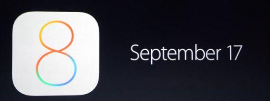 Releasedatum-iOS8