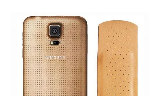 Samsung Galaxy S5 pleister
